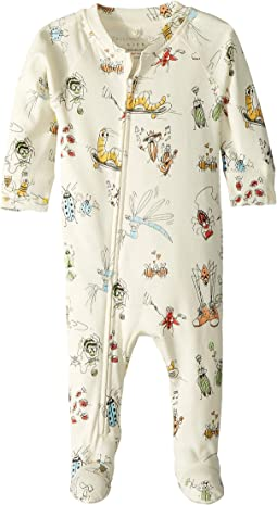 All Over Printed Bugs Footie (Infant)