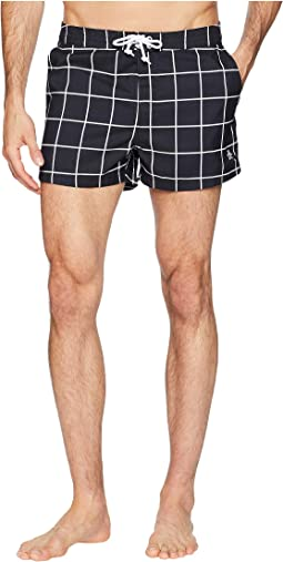 Jasper Windowpane Fix Boardshorts