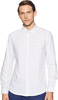 Lee Cooper Men's Striped Regular Fit Casual Shirt