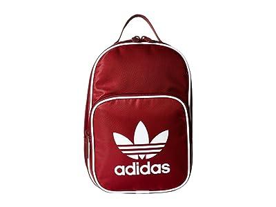 adidas Originals Originals Santiago Lunch Bag (Collegiate Burgundy/White) Bags