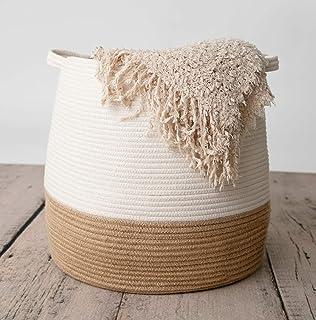 chloé+kai Woven Storage Basket,17.5