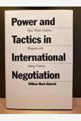 Power and Tactics in International Negotiation Hardcover