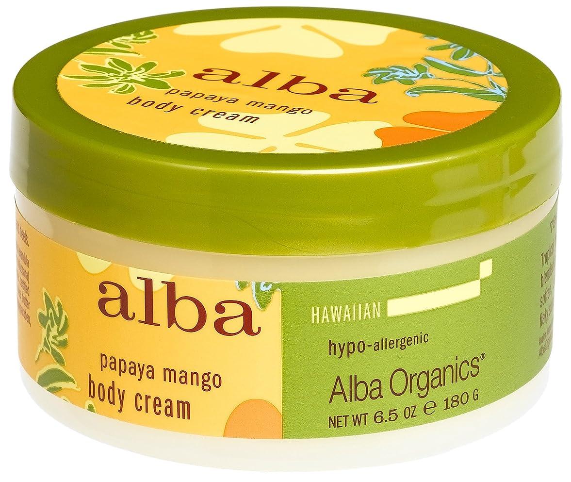 スクリュージェットリーンPapaya Mango Body Cream 6.50 Ounces by Alba Botanica