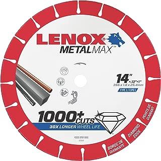 LENOX Tools Cutting Wheel, Diamond Edge, 14-Inch (1972929)