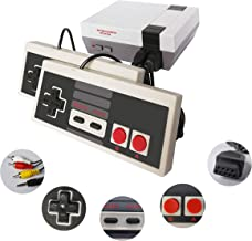 Classic Mini Retro Game Console with Built-in 620 Games and 2 Classic Controllers, AV Output Video Games for Kids, Childre...