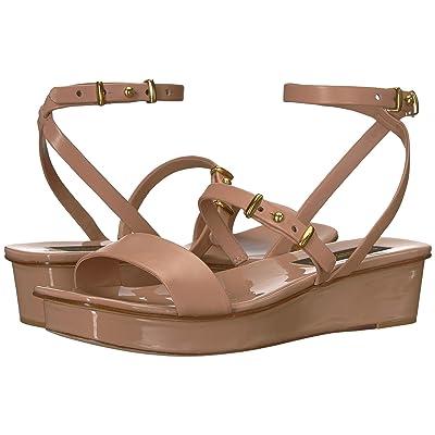 Donna Karan Velda Sandal (Dusty Rose Nappa Leather) Women