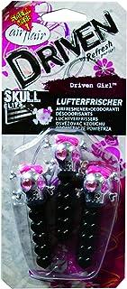 Auto Lufterfrischer, Auto Duft Parfüm, Lufterfrischer Clips 'Driven Girl Skull Clips'