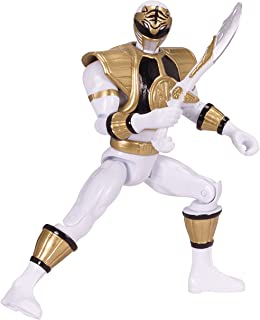 Power Rangers Legacy Mighty Morphin 5-Inch White Ranger Action Figure, Version 2