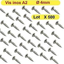 1.4567 0257000600805 T acier inoxydable A2 Spax/ T-Star plus /Vis de Construction en Bois 4/Cut assiettes t/ête 0257000600605