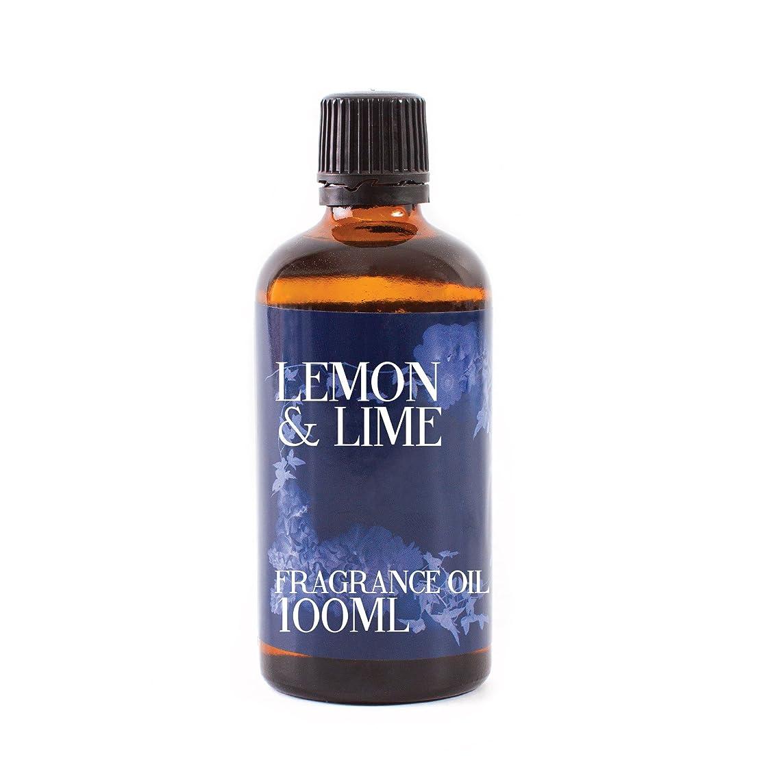 不純広がりマイクロフォンMystic Moments | Lemon & Lime Fragrance Oil - 100 ml