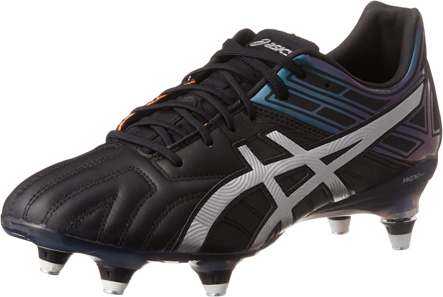 GelLethal Tigreor 10 ST Rugby Boots  Black Silver