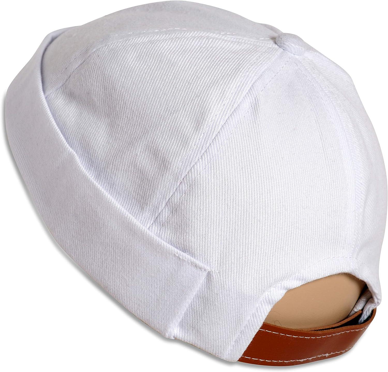 SnugZero - Brimless Adjustable Docker Beanie Max 69% OFF Outlet SALE Retro Cotton Hat