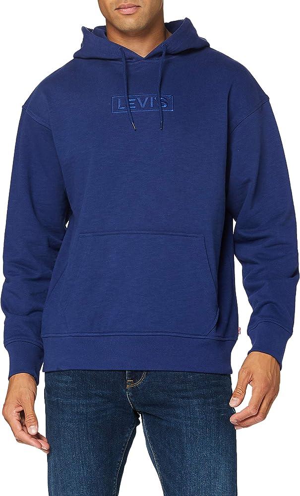 Levi`s t2 relaxd graphic hoodie, felpa con cappuccio per  uomo 38479-0018