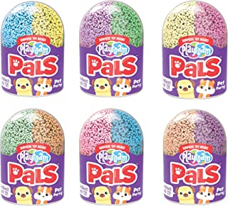 Educational Insights Playfoam Pals Pet Party 6-Pack | Non-Toxic, Never Dries Out | Sensory, Shaping Fun, Arts & Crafts for...