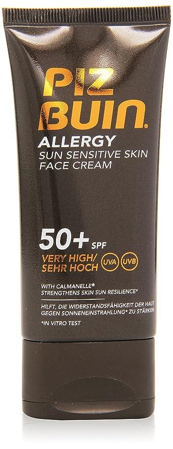 一節アンタゴニストラベルピッツブーインアレルギー日敏感肌フェイスクリームSPF50 50ML
