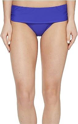 Cabana Solids Lani Banded Bikini Bottom