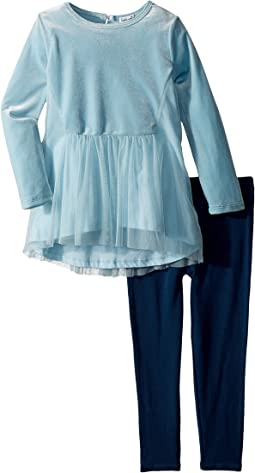 Splendid Littles - Velour/Tulle Leggings Set (Toddler)