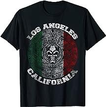 Los Angeles Aztec Mayan Calendar Skull Mexico Symbol T-Shirt