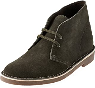 "CLARKS Men's Bushacre 2"" Casual Boots Green 8.5 M"