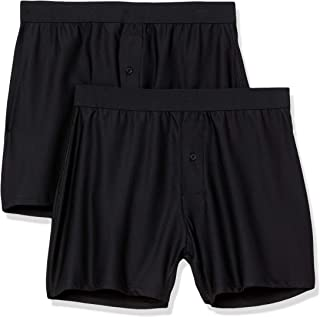 Amazon Essentials 2-Pack Breathable Quick-Dry On-The-Go Boxer Boxer-Shorts Uomo