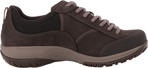 Chocolate Milled Nubuck Waterproof