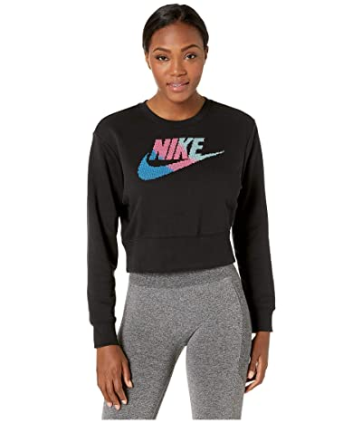 Nike NSW Future Femme Crew Fleece (Black) Women