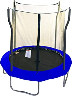 Kinetic Trampolines 8' Trampoline with Enclosure