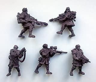 Polar Guardsmen 54 mm 1/32-6 Fantasy Figures Tehnolog Fantasy Battles Russian