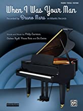 Best when i was your man sheet music Reviews