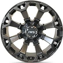 20x10 IWS 5025 Matte Black Machined Wheel 6x139.7mm- (-12mm) Offset