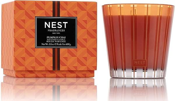 NEST Fragrances 3 Wick Candle Pumpkin Chai 21 2 Oz NEST03PC002