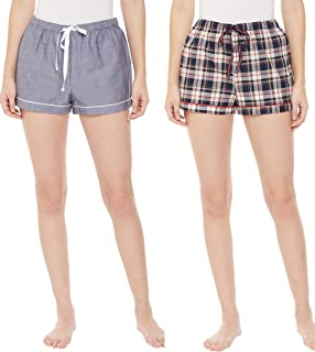 Indigo Paisley Women Regular Shorts (Pack of 2)