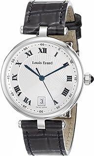 Louis Erard - 11810AA01.BDCB7 - Reloj analógico de Cuarzo con Pantalla analógica, Color Negro