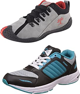 Chevit Men's Combo Pack of 2 Casual & Sports Shoes (Running Shoes)