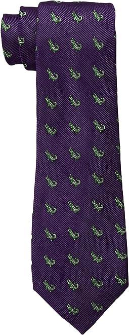 LAUREN Ralph Lauren - Alligator Silk Jacquard Tie