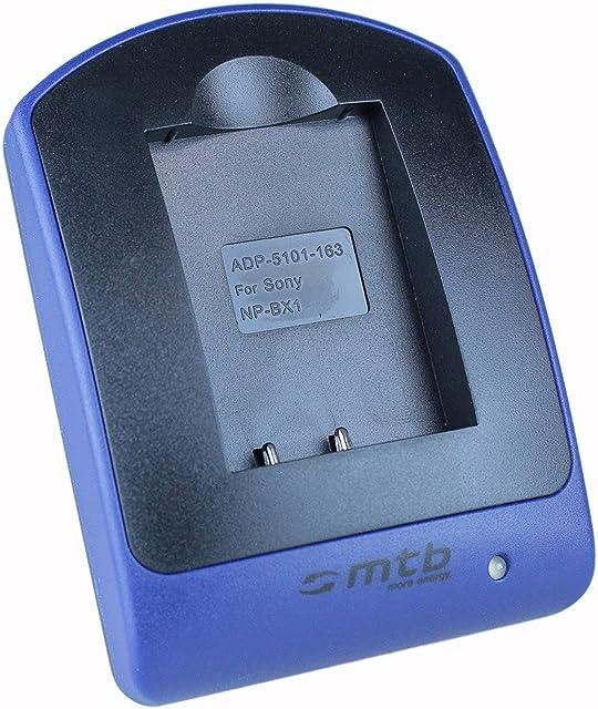 Cargador (Micro-USB sin Cables/adaptadores) para Sony NP-BX1 / HDR-AS50 AS200V / DSC-HX90(V) HX400 RX100 III WX500 / X1000V. Ver Lista
