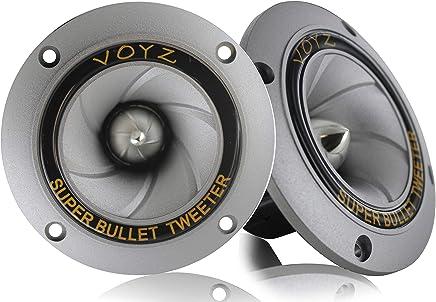 Voyz Super Bullet Dispersion Horn Piezo Tweeter 3.5 inch 400 Watts Max