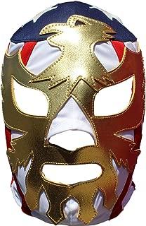 Patriot America Lycra Lucha Libre Luchador Mask Adult Size Golden