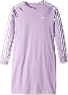 adidas Originals Girls' Big 3-Stripes Dress