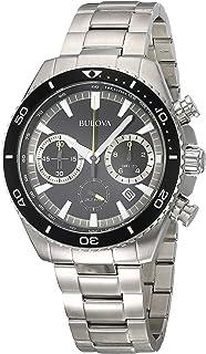 Bulova 98B298 Men's High Frequency Watch, color Plata, Estándar