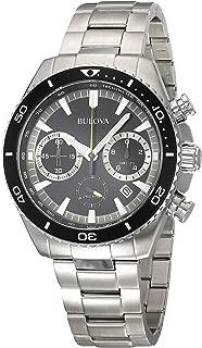 High Frequency Quartz Chronograph Silver Tone Men's Watch 98B298