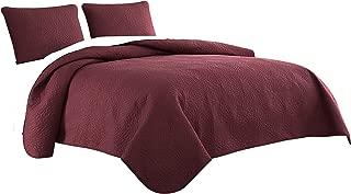 Best burgundy bedding sets Reviews