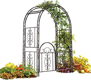 Best iron arbor with gate Reviews