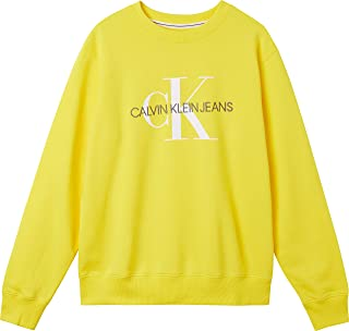 Calvin Klein Jeans Men's Monogram Reg Crew Neck Sweater