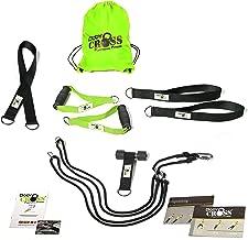 BodyCROSS Premium suspension trainer met deuranker en certificaat (InBuB-zegel), slingtrainingsset, poster met oefeningen,...