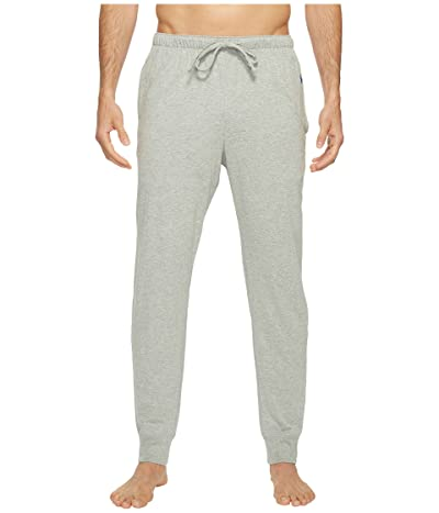 Polo Ralph Lauren Relaxed Fit Jersey Jogger Pants (Andover Heather/Rugby Royal Polo Player) Men