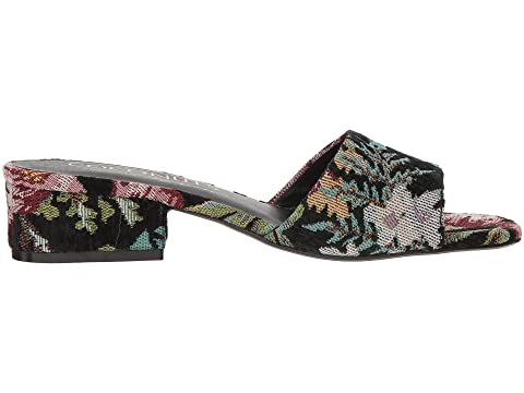 Matisse FabricRose by Black Coconuts Matisse Penny Floral Fabric Lane Heel FabricBlack wSwfrHq