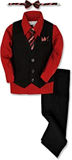 Pinstripe Boys Formal Dresswear Vest Set