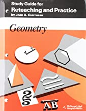 Geometry: Study Guide for Reteaching & Practice