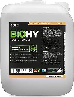 BiOHY Bekleding reiniger (10 Liter Busje) | Ideaal voor autostoelen, banken, matrassen etc. | Ook geschikt voor wasmachine...